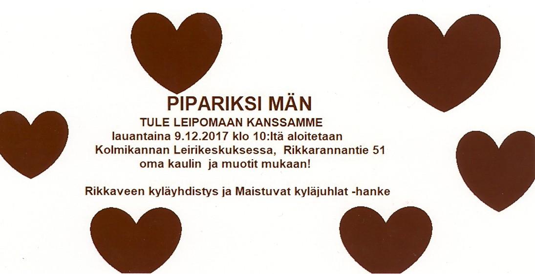 Pipariksi Män